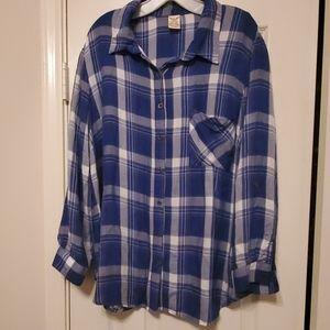 Faded Glory (Blue & White) Shirt